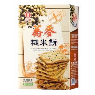 【卡賀】蕎麥糙米餅128g(卡賀 蘇打餅 餅乾 休閒食品)