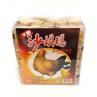 【卡賀】雞蛋沙琪瑪750g(卡賀 沙琪瑪 餅乾 休閒食品)