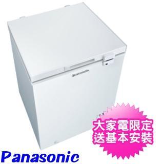 【Panasonic 國際牌】100公升上掀式臥式冷凍櫃(NR-FC100-W)