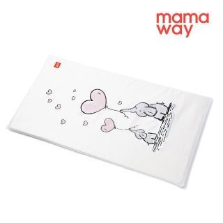 【mamaway 媽媽餵】親子大象芬蘭嬰兒床墊套(72*40cm)