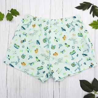 【annypepe】兒童內褲 純棉男童平口褲-來去露營