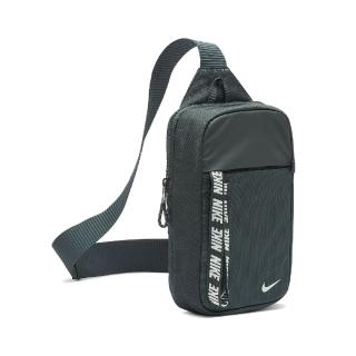【NIKE 耐吉】腰包 Essentials Hip Pack 男女款 NSW 外出 輕便 小包 穿搭 斜背 綠 白(BA6144-364)
