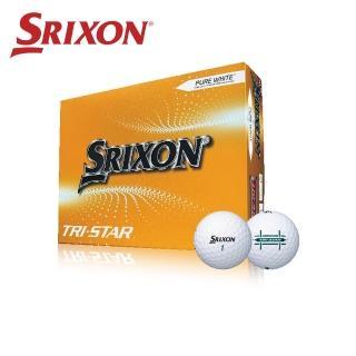 【SRIXON golf】SRIXON  TRI-STAR 三層高爾夫球  2盒組(TRI-STAR)