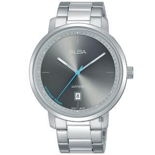 【ALBA】Tokyo Design 原創時尚手錶-灰x銀/42mm(VJ42-X251D AS9F79X1)