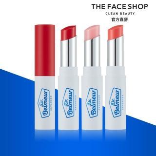 【THE FACE SHOP 菲詩小舖】肌本博士積雪草潤色護唇膏(3色任選)