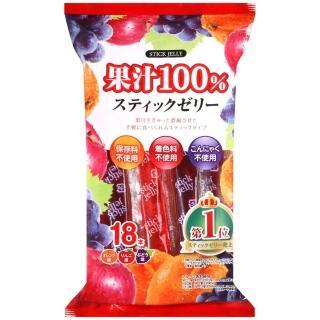 【Ribon 立夢】綜合果汁果凍棒(270g)