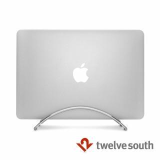 【Twelve South】BookArc 直立式筆電座 for MacBook(銀色)