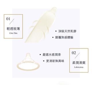 【丸龜製套】職人超薄武士金(超薄型6入/盒)