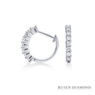 【RUIEN DIAMOND 瑞恩鑽石】輕珠寶系列 30分鑽石耳環(18K金 REE29)