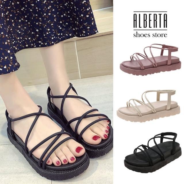【Alberta】4CM涼鞋