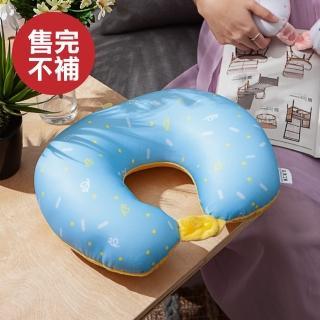 【生活工場】奇趣時光雙變造型頸枕-藍