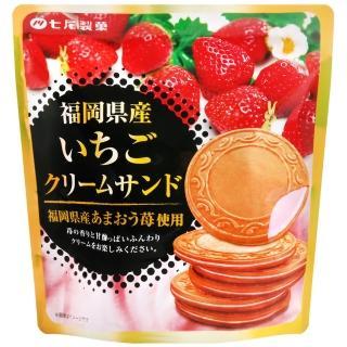 【七尾製果】法蘭酥夾心餅-草莓風味(66g)