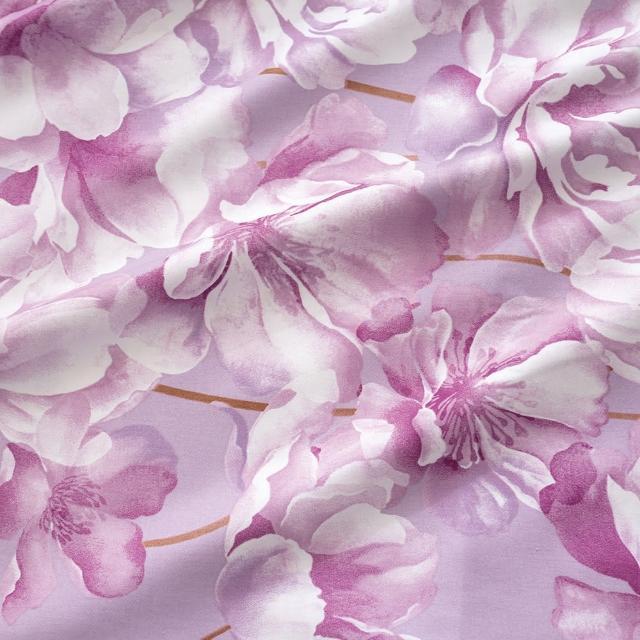 【MONTAGUT 夢特嬌】100%精梳純棉三件式床包組-多款任選(雙人/加大均一價)