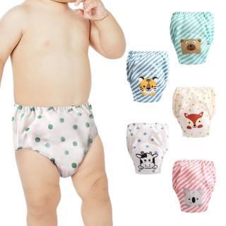 【JoyNa】寶寶紗布學習褲7層尿褲兒童隔尿褲拉拉褲(6件入)