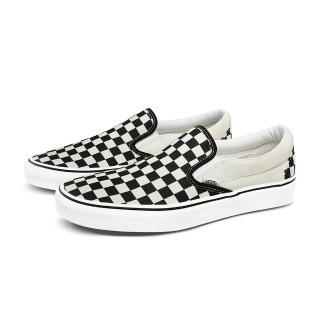 【VANS】CLASSIC SLIP-ON 棋盤格 米黃 懶人鞋 低筒 男女鞋(VN000EYEBWW)