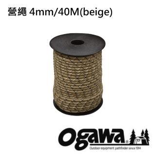 【OGAWA】營繩 4mm40M(ogawa-3133)