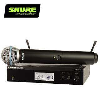 【SHURE】BLX24R / BETA58 無線麥克風系統(原廠公司貨)