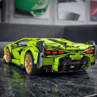 【LEGO 樂高】科技系列 Lamborghini Sian FKP 37 42115 跑車 林寶(42115)