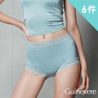 矜蘭妃-100%蠶絲42針舒敏平口內褲4+2件
