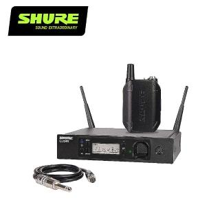【SHURE】GLXD14R 無線樂器收音系統-吉他/貝斯/靜音提琴均適用(原廠公司貨)
