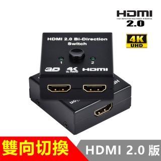HDMI 2.0版4K雙用雙向切換器轉換器BW-20H(HDMI切換)
