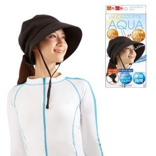 【ALPHAX】日本進口 抗UV防近紅外線防曬盔式帽 一入(遮陽帽 涼感防曬 後頸防曬 水陸兩用)