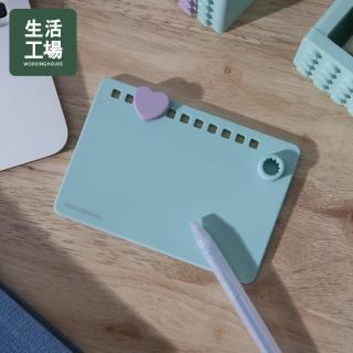 【生活工場】【女神節推薦】馬卡龍積木造型寫字板