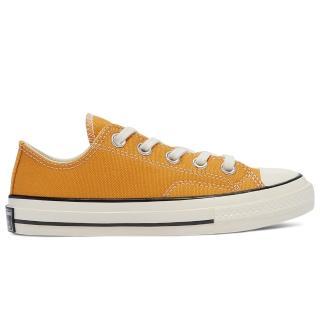 【CONVERSE】CHUCK 70 OX 低筒休閒鞋 中大童 黃色(368987C)