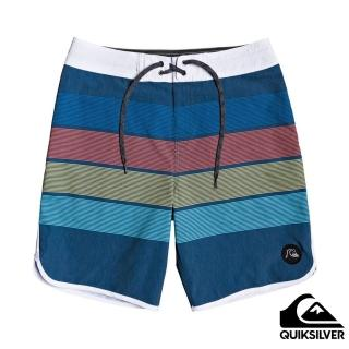 【Quiksilver】男款 男泳裝 衝浪褲 褲子 SEASONS BEACHSHORT 19(海軍藍)