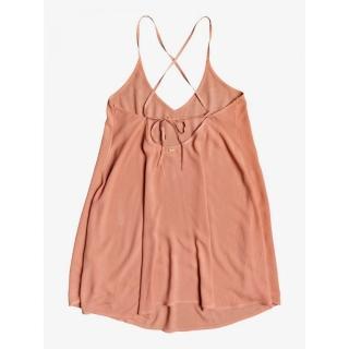 【ROXY】女款 女裝 洋裝 裙子 SD BE IN LOVE DRESS(粉橘)