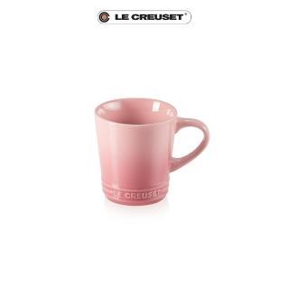 【Le Creuset】瓷器V馬克杯-300ml(薔薇粉)