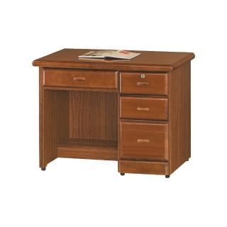 【MUNA 家居】樟木色3.2尺辦公桌(辦公桌)