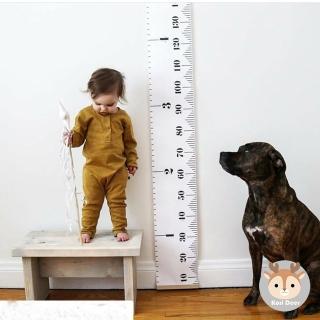 【Kori Deer 可莉鹿】北歐風軟式兒童成長身高尺(捲尺收納身高記錄測量)
