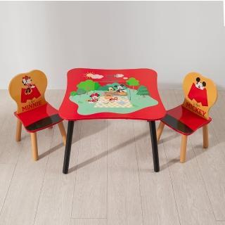 【kikimmy】迪士尼正版授權玩具總動員桌椅組(一桌二椅)