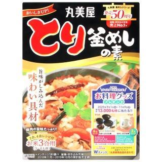【丸美屋】釜飯料-香菇時蔬雞肉(134g)