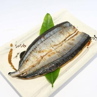 【鮮食家】任選799 富琳嚴選 安心好魚-鹽烤秋刀(85g±10%/包)