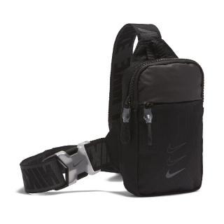 【NIKE 耐吉】斜背包 Essentials Hip Pack NSW 外出 輕便 小包 手機包 穿搭 黑 灰(BA5904-011)