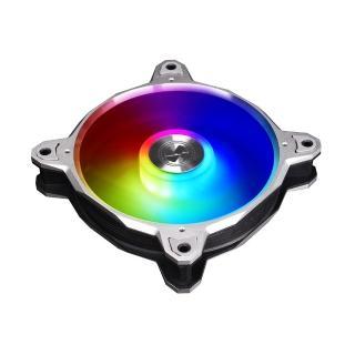 【LIAN LI 聯力】Bora Digital RGB 風扇 - 銀框_速(BORA DIGITAL 3RS)