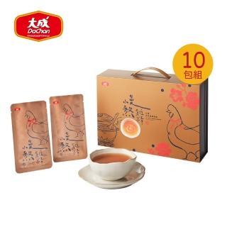 【大成】慢熬雞精(冷凍)(60mL/10包/盒)大成食品(滴雞精 熬雞精 優質蛋白)