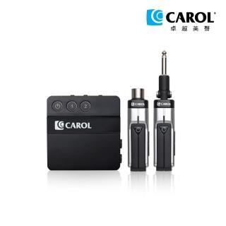 【CAROL 佳樂電子】輕巧掌上型2.4G數位無線麥克風系統(DW-26D+I - 支援動圈式麥克風、電子樂器)