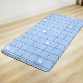 【LOHAS】樂活四季竹棉透氣床墊 單人3尺