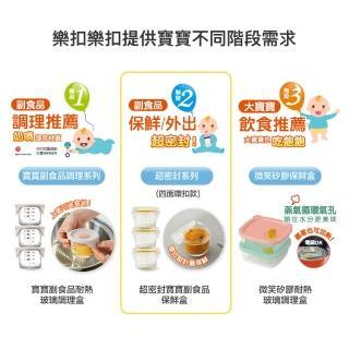 【LocknLock樂扣樂扣】寶寶副食品耐熱玻璃調理盒(兩款任選)