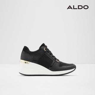 【ALDO】質感金屬厚底休閒鞋-女/