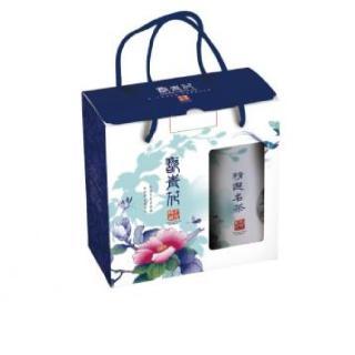 【名池茶業】翫青花阿里山烏龍茶禮盒組  清香/二培火((100克/罐 2入)共3組)