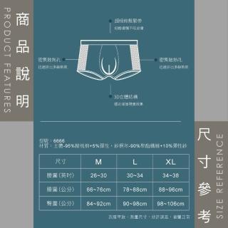 【SunFlower 三花】彈性貼身平口褲.四角褲.男內褲(深藍-新色上市)
