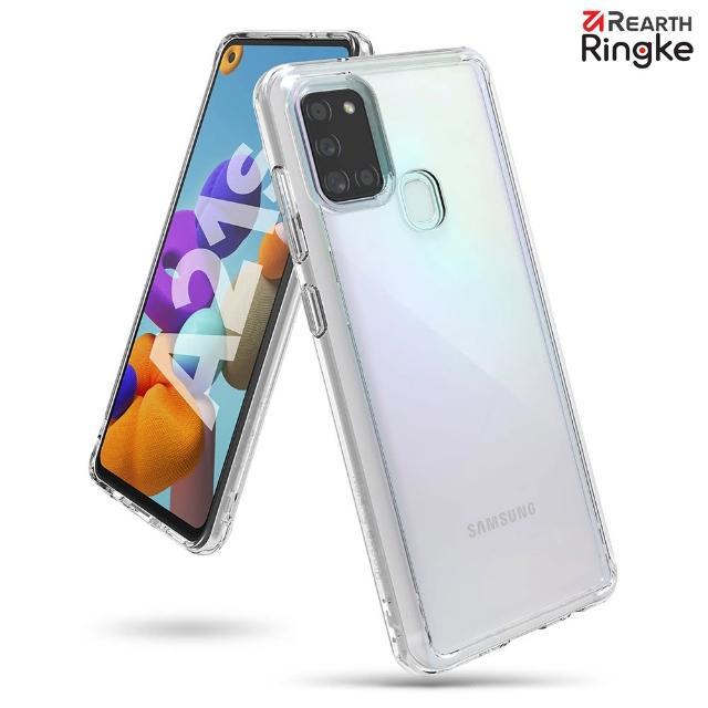 【Ringke】Rearth 三星 Samsung Galaxy A21s [Fusion] 透明背蓋防撞手機殼(A21s 透明背蓋防撞手機殼)