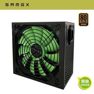 【SAMGX】RX500AF白鯊500W 80+ 銅牌 電源供應器(500瓦/銅牌認證/3年保固)