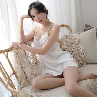 【Sexy angel】深V裸背蕾絲性感連身裙性感火辣情趣睡衣內衣夜店女神(角色扮演服爆乳夜店款cosplay)