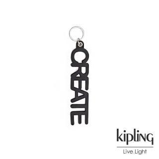 【KIPLING】魅力黑英文字母造型吊飾-CREATE CHARM