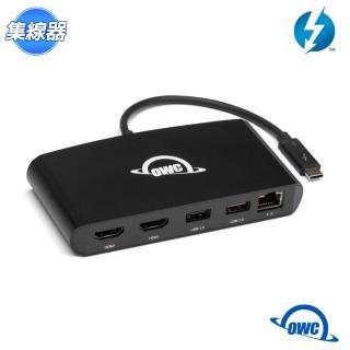 【OWC】Thunderbolt 3 mini Dock 擴充裝置(HDMI 2.0 / Gigabit 網路 / USB3 / USB2)